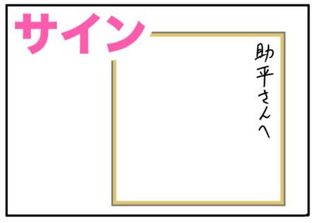 autograph(サイン、自筆)