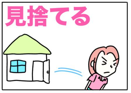 abandon(見捨てる)
