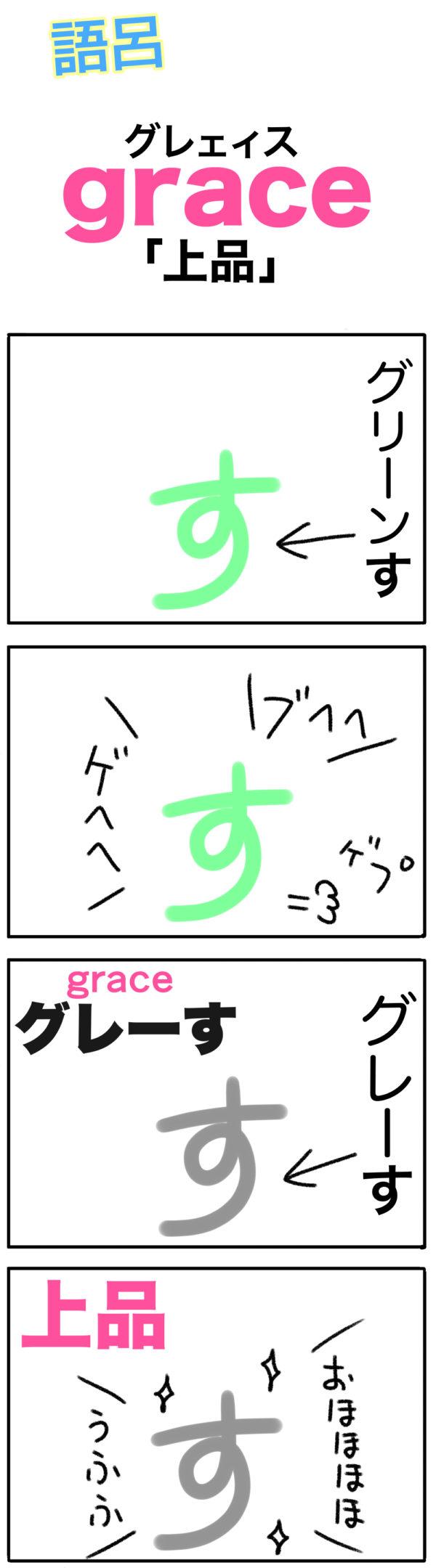 graceの覚え方(語呂合わせ)