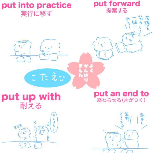 【熟語・慣用句・イディオム対策のページ】