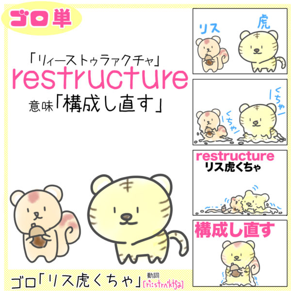 restructure(構成し直す)